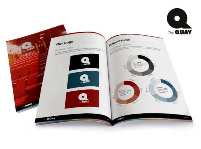 WP Creative, Design and Marketing Agency Suffolk, Rebrand, Theatre Brochure Layout