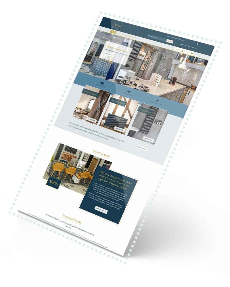 WP Creative, Design and Marketing Agency Suffolk, Ecommerce Services, Client Website Example