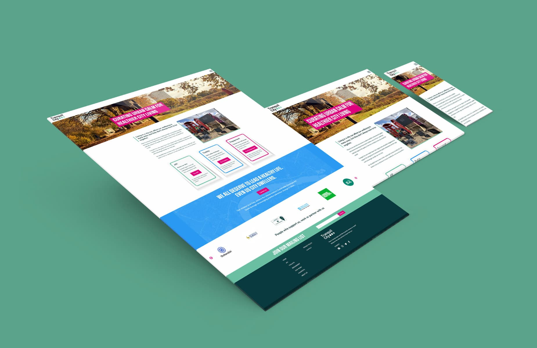 WP Creative, Design and Marketing Agency Suffolk, Web Design, Client Website Layout Example