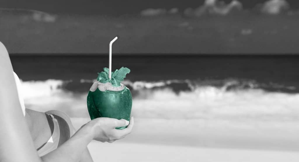 WP Creative, Design and Marketing Agency Suffolk, Website Maintenance Services, Green Cocktail at the Beach